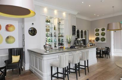 Bar at The Orangery, Darley Dale