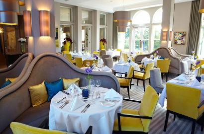 The Orangery Restaurant at St Elphin's Park